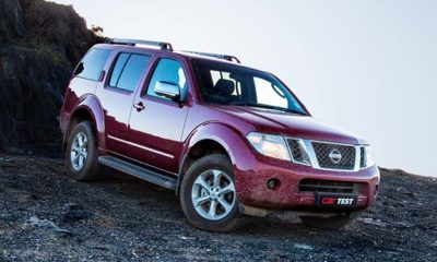 Nissan Pathfinder 2,5 DCi 4x4 SE AT front view