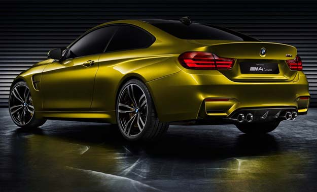 BMW M4 Concept rear view