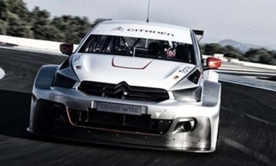 Loeb and Yvan Muller Take Their New Citroen WTCC Car For A Spin [video]