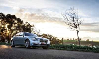 BMW ActiveHybrid 7 at dawn