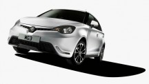 MG3 front three quarter
