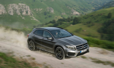 Mercedes-Benz GLA front and side view
