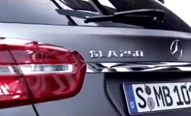Mercedes-Benz GLA teaser image from video