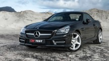 Mercedes-Benz SLK 250 front three quarter.