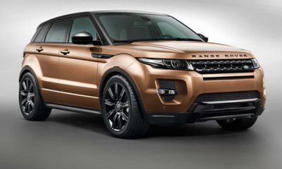 2014 Range Rover Evoque front three-quarter