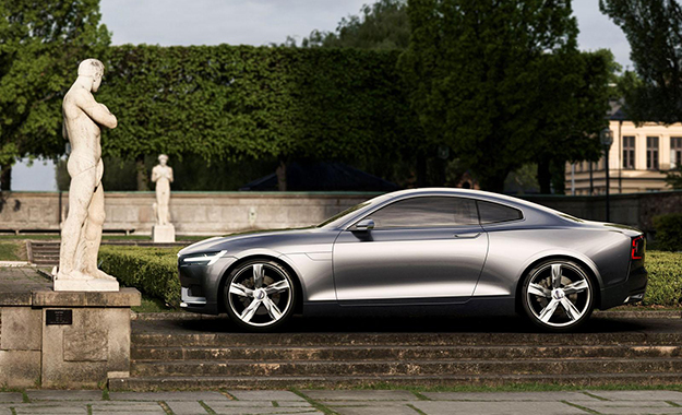Volvo Concept Coupe profile view