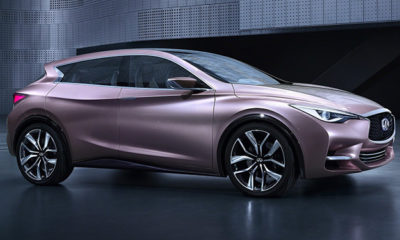 The Infiniti Q3 Concept is believed to preview a potential Audi A3/Q3 competitor