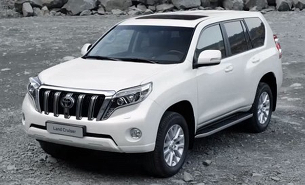 Images and video footage of the 2014 Toyota Prado have emerged online