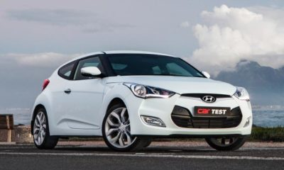 Hyundai Veloster front view
