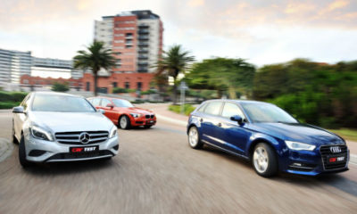 Audi A3 Sportback 1,4T FSI S tronic vs. BMW 116i Steptronic vs. Mercedes-Benz A180 BE 7G-DCT