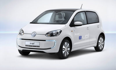 Volkswagen e-up! front view