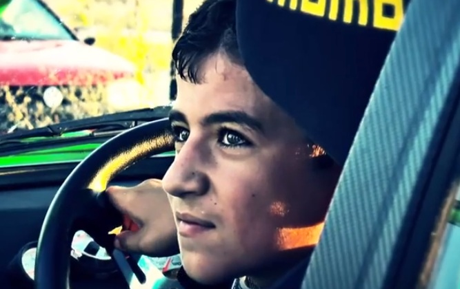 Cool as ice 11 year old drifter [video]