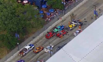 A Very Expensive American Le Mans Series Pile-Up [video]