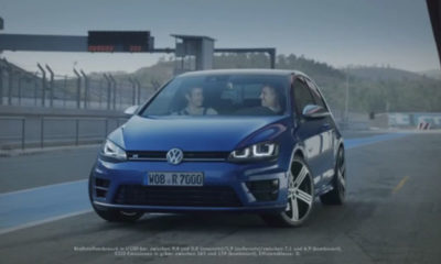Volkswagen Golf R track video