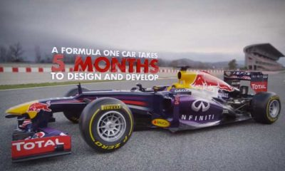 How To Build A Formula One Car - Part 2 [video]