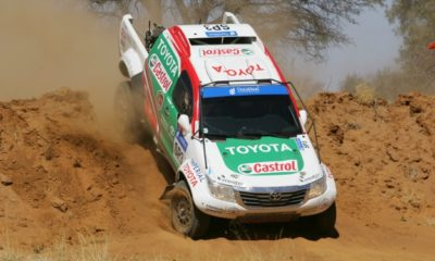 Castrol Team Toyota Hilux front