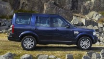 2014 Land Rover Discovery side.