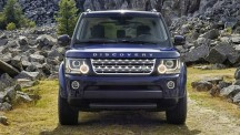 Land Rover Discovery 4 front.