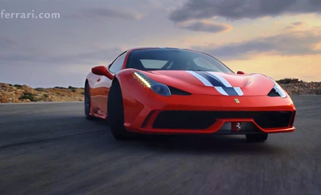 Ferrari 458 Speciale Offcial video