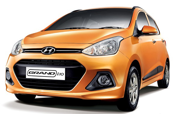 Hyundai i10 Grand front view