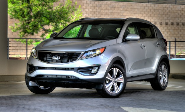 2014 Update To The Kia Sportage Includes A New Grille And New Foglamps.