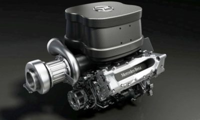 2014 Mercedes-Benz F1 Turbocharged V6 Engine Simulates Monza [video]