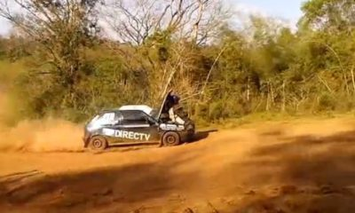 Rally co-driver team player [video]