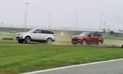 Range Rovers Racing [video]