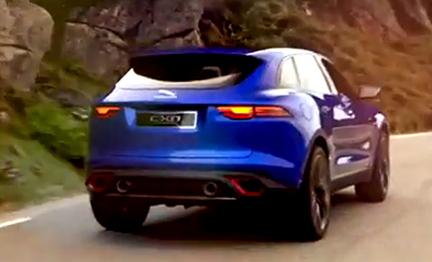 Jaguar has finally lifted the wraps off its C-X17 crossover concept
