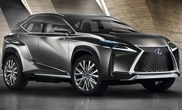 Lexus has revealed its NF-NX Concept ahead of the 2013 Frankfurt Motor Show