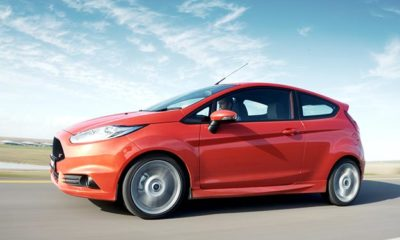 Ford Fiesta ST side view