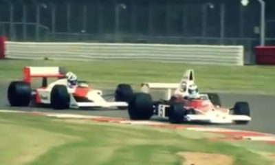 Very Cool! Hakkinen and Coulthard Drive McLaren Heritage F1 Cars [video]