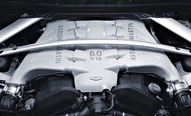 Aston Martin V12 engine