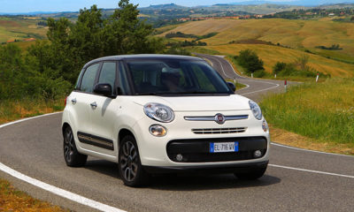 Fiat 500L front three-quarter