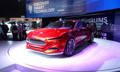 Ford Evos Concept at JIMS 2013
