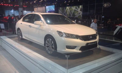 New Honda Accord at JIMS 2013