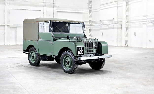 Land Rover Series I Hue First Preproduction Vehicle
