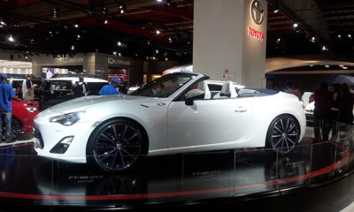 Toyota FT-86 Concept Open