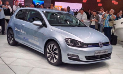 VW Golf BlueMotion at JIMS 2013