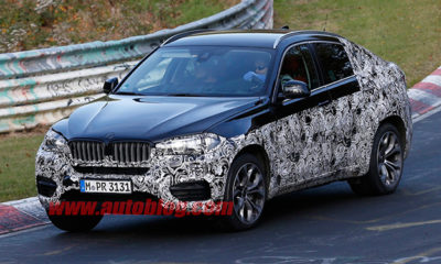 BMW X6 spy images