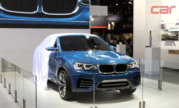 BMW X4 Concept at JIMS