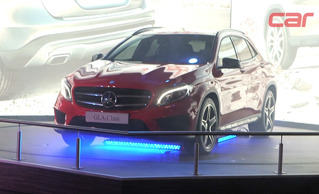 Mercedes-Benz GLA at JIMS 2013