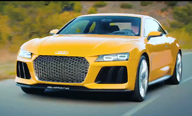 To say thank you to its Facebook fans, Audi has released more footage of the 2013 Sport Quattro Concept