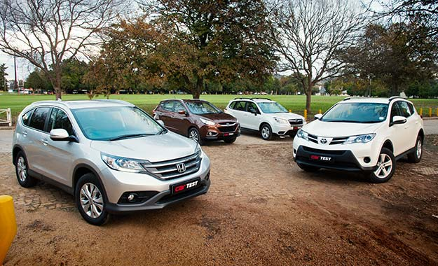 Compact SUV Test: Toyota RAV4 2,0 GX vs Subaru Forester 2,0X vs Hyundai ix35 2,0 Executive vs Honda CR-V 2,0 Comfort