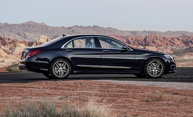 There's enough presence to justify the S-Class's Maybach-replacing proviso