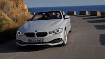 BMW 4 Series Cabriolet front