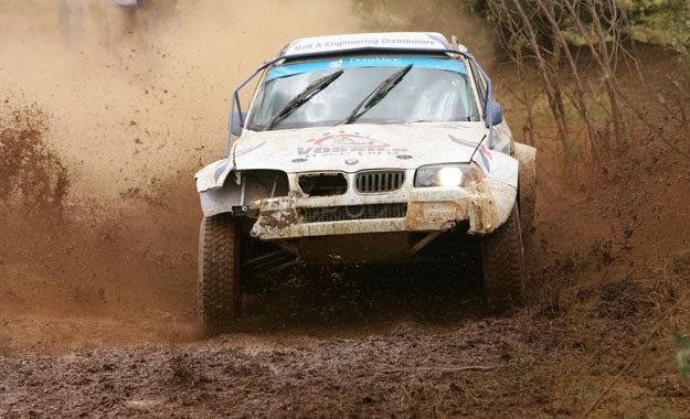 Willem Vos and Werner Weiss won the final off-road race of the year