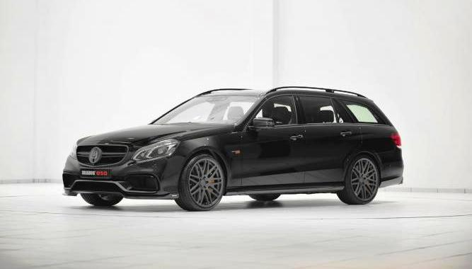 Brabus builds 625 kW superwagon