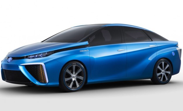 Toyota FCV touted for production in two years