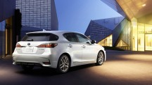 Lexus CT200h rear picture